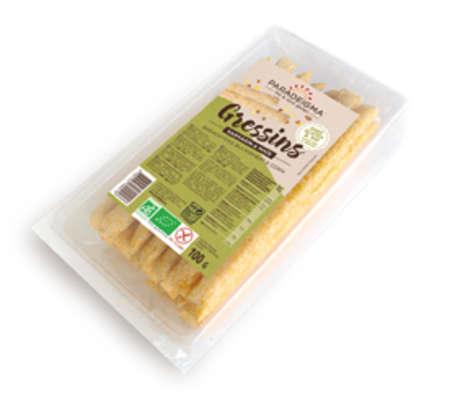 Visuel : Gressins sarrasin maïs - Apéritifs