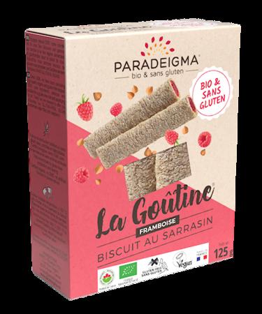 Visuel : Goûtine® framboise / raspberry - Goûtine