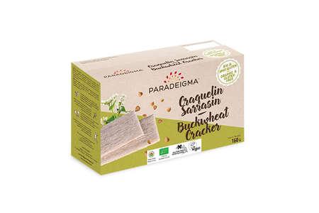 Visuel : Craquelin sarrasin / Buckwheat cracker - Craquelins