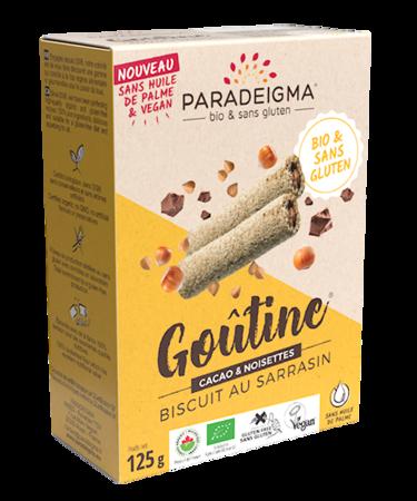 Visuel : Goûtine® cacao / rolled wafers  - Goûtine