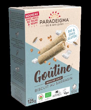 Visuel : Goûtine® coco / rolled wafers - Goûtine