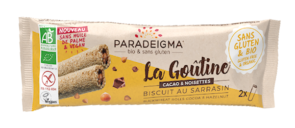 Goûtine® cacao / rolled wafers