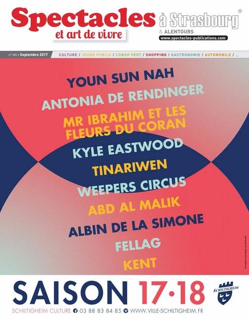 Le magazine  Spectacles et art de vivre de Strasbourg et notre pâte à tartiner