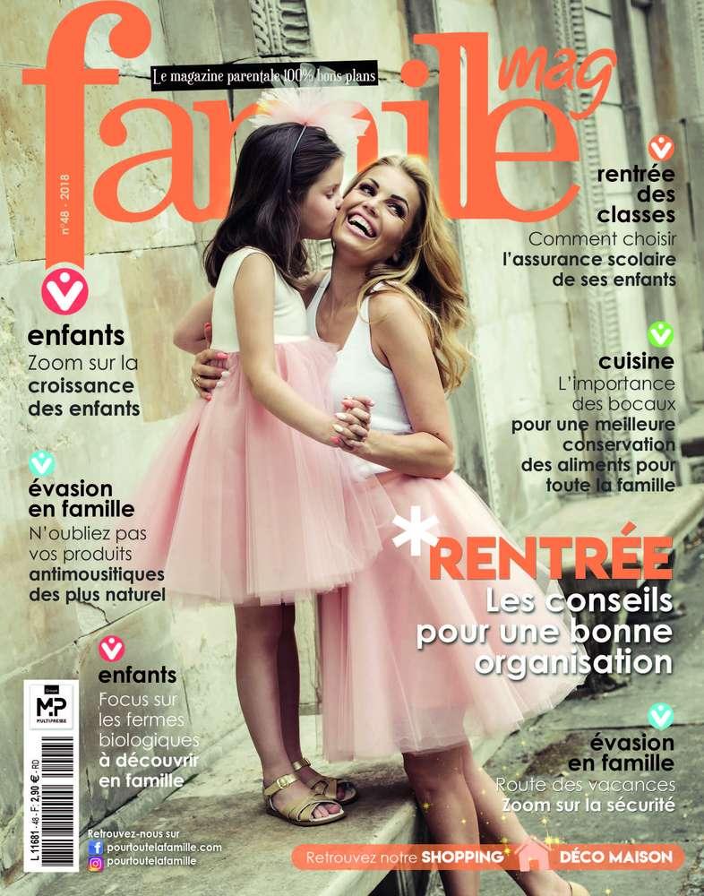 Magazine Famille et nos P'tits snacks pour l'apéro !