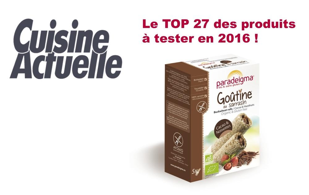 Cuisine Actuelle, Top 27 !